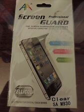 CLEAR LCD SCREEN PROTECTOR FOR BOOST MOBILE SPRINT SAMSUNGM930TRANSFORMULTRA