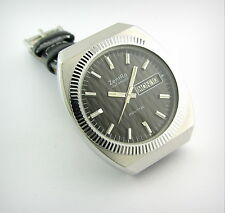 Vintage Watch...ZENTRA MANTA....Automatic...Day&Date...Steel...70's.......Mint!!