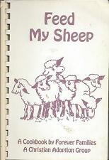 *KNOXVILLE TN 1995 CHRISTIAN ADOPTION GROUP FAMILIES COOK BOOK *FEED MY SHEEP