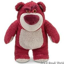 "Disney Store Lots O' Huggin' Bear Plush Toy Story 3 Scented Lotso Size 15"" NWT"