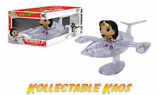 Wonder Woman with Invisible Jet Pop! Rides Vinyl Figure