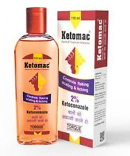 Ketomac Anti- Dandruff Shampoo Ketoconazole treats flaking scaling, itching fast