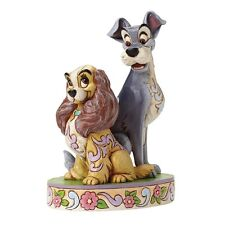 Disney LADY & THE TRAMP Opposites Attract 60th Anniversary Figurine 4046040