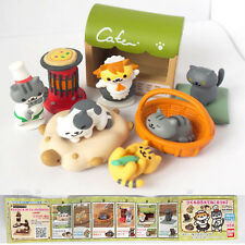 Bandai Hit point capsule toy Neko Atsume Cat collection Game characters set 2