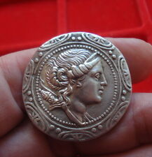 Superb Greek  silver coin, Tetradrachm, Grecque en argent