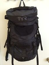 TYR CONVOY TRANSITION TRIATHLETE BLACK DUFFEL BAG BACKPACK, NEW ON SALE!