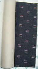 105 x 40 inch hard wearing dark grey rug runner /  carpet cheap! BN # 1304