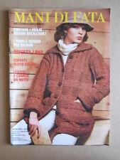 Mani di FATA n°8 1978 con cartamodelli - rivista di lavori femminili  [C56]