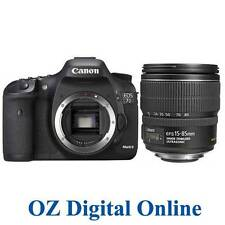 NEW Canon EOS 7D Mark II +15-85 IS Lens Kit Mk2 20.2MP DSLR Camera 1 Yr Au Wty
