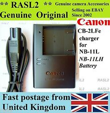 Genuine Original CANON Charger CB-2LFe NB-11Lh PowerShot SX420 SX410 SX400 iS