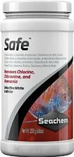 SeaChem Safe- 250 Gm- Dry version of Prime-Removes Chlorine,Chloramine, Ammonia