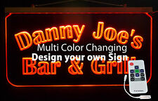 Personalized Bar Sign, Man Cave, Business Sign, Garage Sign, Handmade -Gift