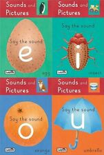 LADYBIRD __ 4 BOOK SET __  SOUNDS & PICTURES FIRST READING SAY THE SOUND __ NEW