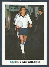 FKS 1977/78 SOCCER STARS- #122-DERBY COUNTY & ENGLAND-TRANMERE-ROY McFARLAND