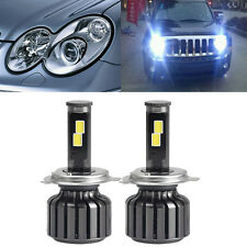 2x NEW H4 9003 HB2 120W 10000LM CREE LED Headlight Kit Hi/Lo Beam Bulbs 6000K