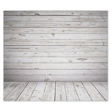 5X7ft Vinyl Photography Backdrops Backgrounds Wooden Floor Wedding Studio ED