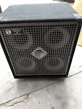 SWR Goliath III 4x10 Bass Cabinet. Great Condition Sounds Great! w/cover