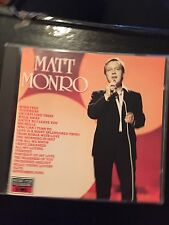 Matt Monro Softly As I Leave You Used 20 Track Easy Listening Pop Cd