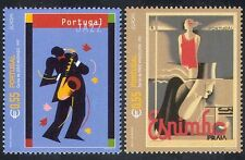 Portugal 2003 Europa/Jazz/Art/Poster/Music/Swimming/Saxophone 2v set (s4216)
