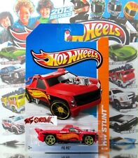 Hot Wheels 2013 #80 Fig Rig™ RED,YELLOW PR5,NEW CASTING,VERY COOL!