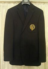 Marine oxford university blazer patch poche authentique officiel jarretière insigne 40R