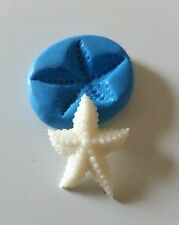 Starfish Silicone Mould 35 mm Polymer clay Fondant Icing Sugarpaste Fimo