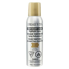 Streaks 'N Tips TEMPORARY HIGHLIGHT HAIR COLOR SPRAY - GOLD DUST 3.5oz