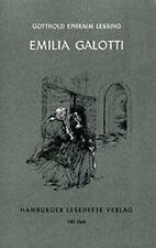 Emilia Galotti von Gotthold Ephraim Lessing (2015, Taschenbuch)