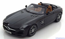 1:18 Norev Mercedes SLS AMG Roadster 2011 black-metallic