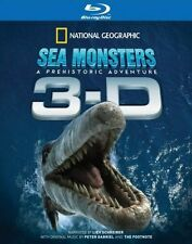Sea Monsters 3-D -A Prehistoric Adventure (Blu-ray) **New Sealed** - Region B