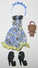 Ever After High Enchanted Picnic Blondie Lockes Doll Outfit Clothes Dress Shoes