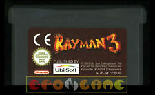RAYMAN 3 Gameboy Advance Versione Europea ••••• SOLO CARTUCCIA