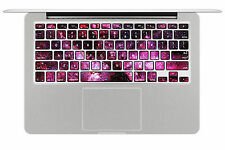 Macbook Air Pro Vinyl Skin Sticker Decal Keypad keyboard - space stars KP02