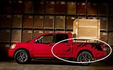 04-14 Titan Raptor style truck bed Splash Mud vinyl graphics decals fits: Nissan