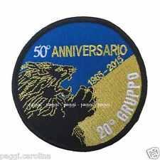 Patch A46 50° Anniversario 1965-2015 20° Gruppo Toppa Patch con velcro