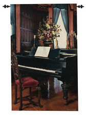Biltmore Music Room ~ Grand Piano Grande Tapestry Wall Hanging