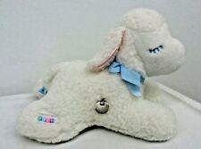 Vtg Eden Plush Musical Wind Up Mary Had Little Lamb Head Moves Rare
