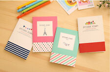 Cartoon Little Notepad Memo Paper Journal Diary Notebook Stationery Chic