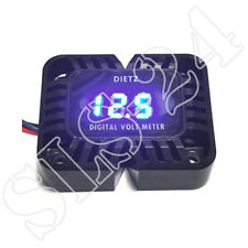 Dietz 26030 Digitales Voltmeter Blaues LED Display 12V