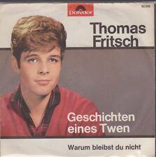 """7"""" Thomas Fritsch Geschichten eines Twen 60`s Polydor 52 245"""