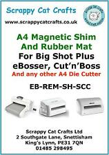 Magnetic Shim & Rubber Mat for eBosser /Cut'n'Boss  by Scrappy Cat EB-REM-SH-SCC