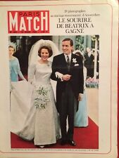 Paris Match 19/03/66 - Mariage Beatrix d'Hollande les Touaregs Daniel Gelin