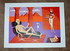 Josh Agle SHAG The Mummy 2013 Universal Monsters Art Print Poster S/# 150 Movie