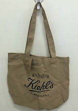 NEW ARRIVAL! KIEHL'S BROWN CANVAS ECO SHOPPER TOTE BAG SALE