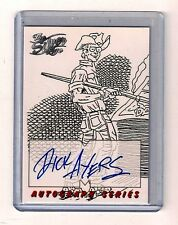 1998 MARVEL: The SILVER AGE AUTOGRAPH Insert - A4  DICK AYERS  auto chase