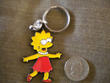 Large Enamel LISA Simpson keyring
