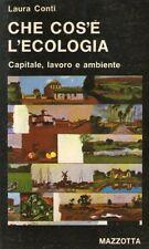 DT Che cos'è l'ecologia Conti Mazzotta 1981