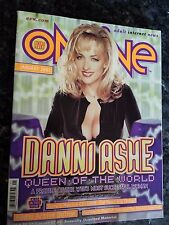 DANNI ASHE AVN ONLINE JANUARY 2001 MAGAZINE ADULT INTERNET NEWS RARE BAYWATCH