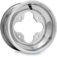 "DWT Polished A5 Rolled Lip ATV Front Wheel Rim 10"" 10x5 4+1 4/4 10 x 5"