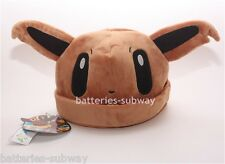 New Pokemon Adult Plush Warm Hat Cap Beanie Costume Cosplay Eevee